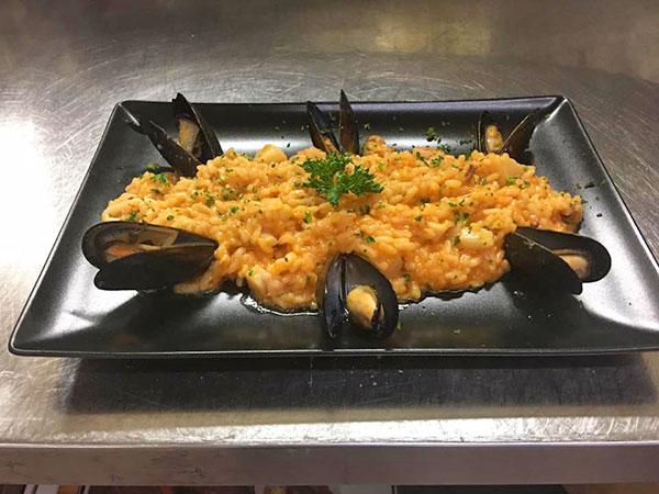 dolce vita seafood risotto