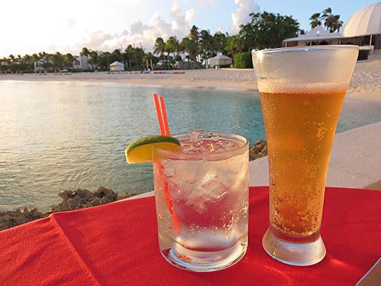 seaside cocktails at spice cap juluca