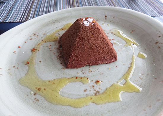 semifreddo dessert at malliouhana
