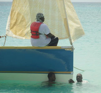 Peter Perkins Memorial boat race, perkins grandson Shavaun Richardson