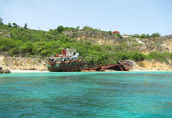 shipwreck anguilla