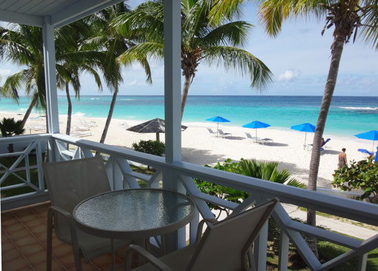 shoal bay villas ocean front view