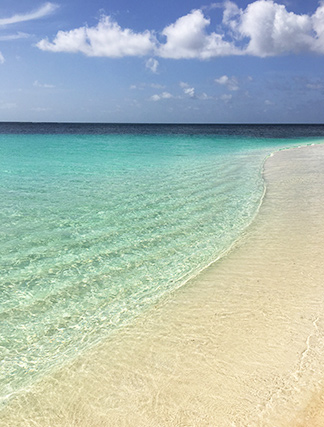 crystal clear waters of shoal bay, anguilla