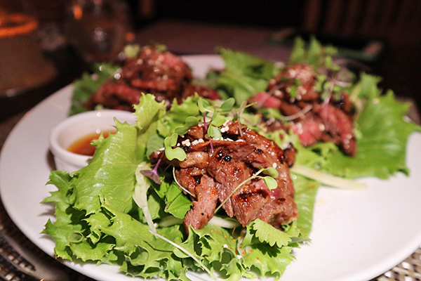 Koren BBQ Short Ribs Wraps