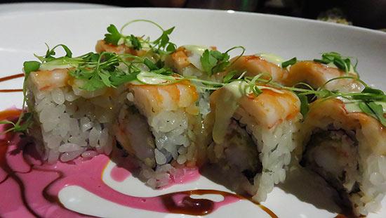 shrimp tempura roll anguilla