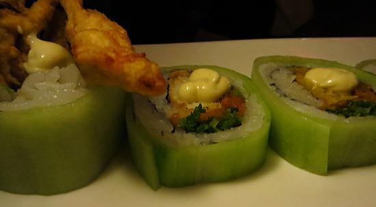 tokyo bay soft shell crab roll