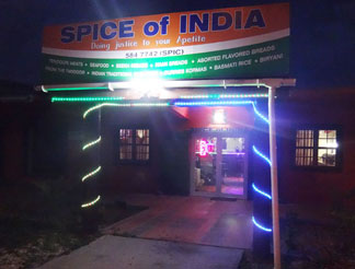spice of india at night