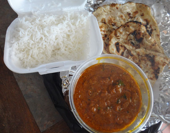 chana masala take out at spice of india