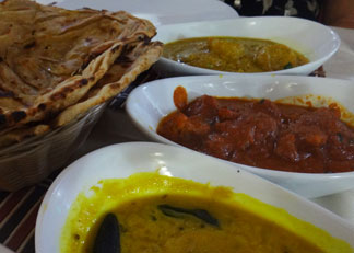 spice of india entrees