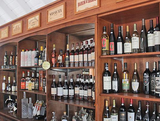 spirits available at grands vins de france