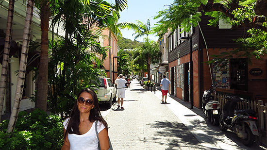 streets of gustavia