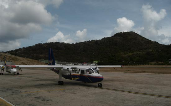 St. Barts airport