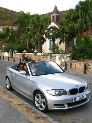 St. Barts BMW