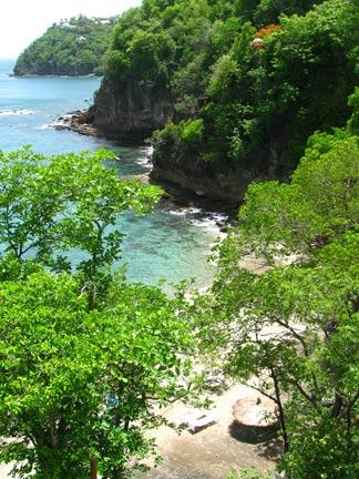 St. Lucia beaches
