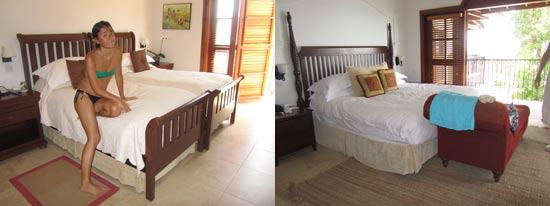 St. Lucia resorts Cap Maison bedrooms