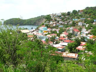 st. lucia town