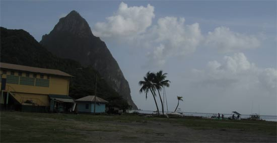 st. lucia pitons soufriere