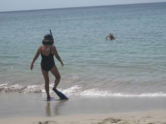 St. Lucia resorts Cap Maison snorkeling