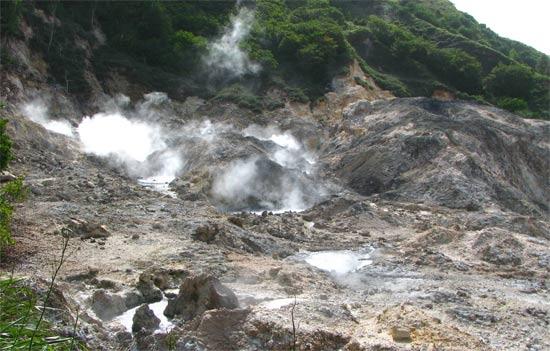 st. lucia volcano
