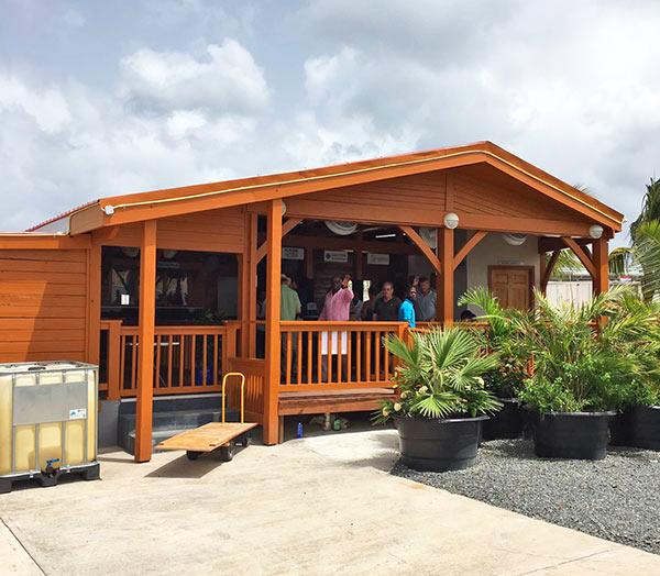 anguilla ferry dock in st. maarten