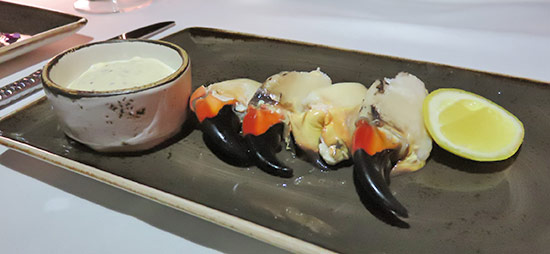 the restaurant at malliouhanas stone crab claws
