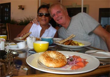 anguilla breakfast straw hat