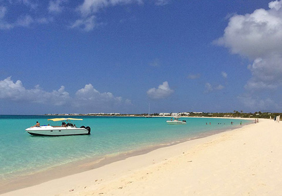 another sunny day on rendezvous bay in anguilla