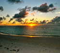 Our First Anguilla Sunset -Christa