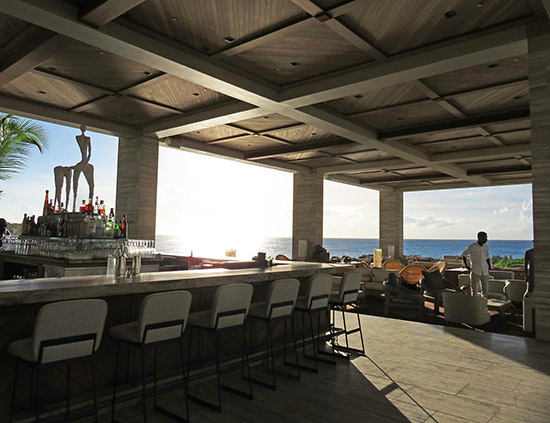 sunset lounge at four seasons anguilla