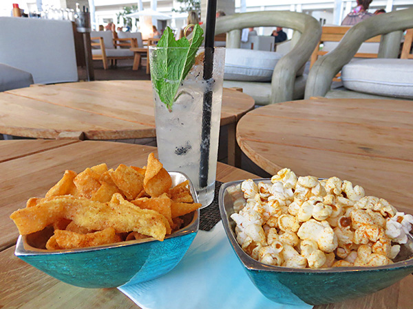 sunset lounge dragons breath cocktail and bar snacks
