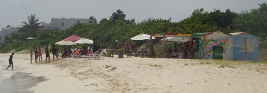 Sunshine Shack, Anguilla beach bar, Rendezvous Bay, Anguilla, Garvey