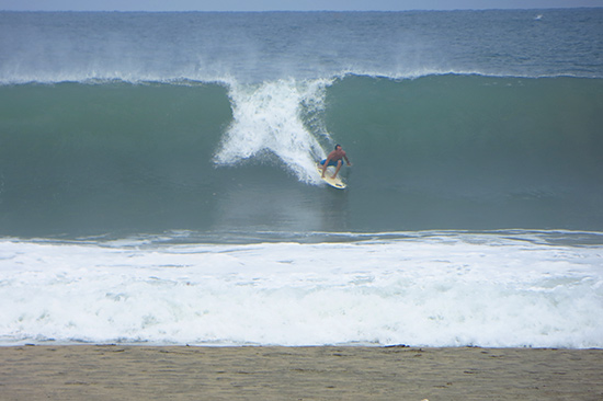 Surfer Watching The Waves At Puerto Escondido S Main Beach Zicatela