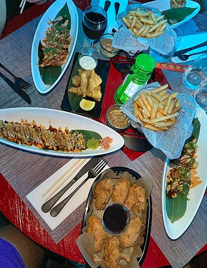 Sushi night special at IWASATTHEBAR