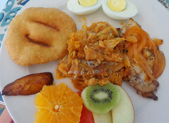 anguilla breakfast sampler tasty's