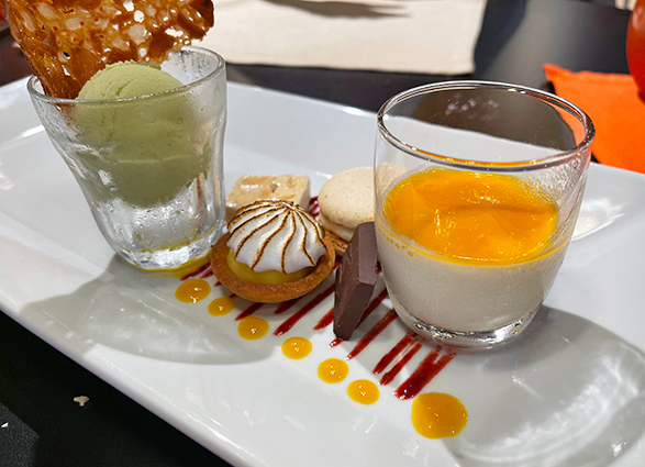 Tea with Sweets at Bacchus