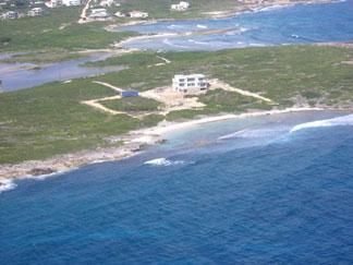 Anguilla villa, Tequila Sunrise, Dropsey Bay, Anguilla aerial view