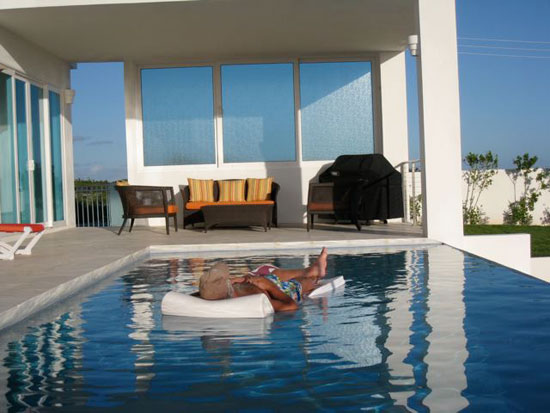 Anguilla villa, Tequila Sunrise, Dropsey Bay, pool