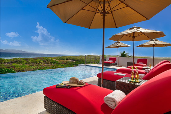 colorful tequila sunrise villa in anguilla