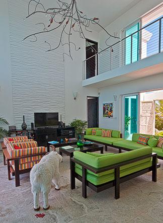 the great room in anguilla tequila sunrise villa
