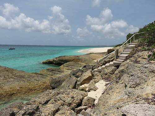 the stairway on long bay