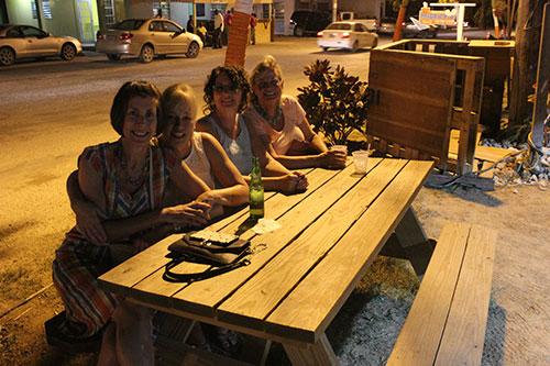 hangout at domino cafe