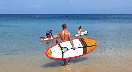 sup in anguilla
