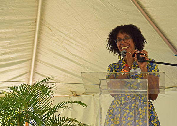 tiphanie yanique at lit fest 2017 in anguilla