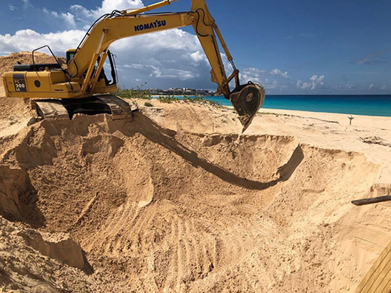 tranquility beach breaks ground