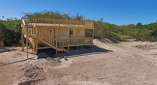 tranquility beach sales trailer on meads bay