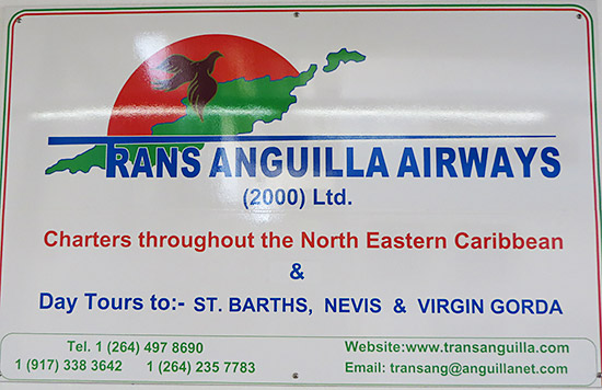 trans anguilla sign