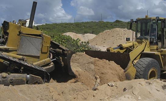 Caribbean building teamwork