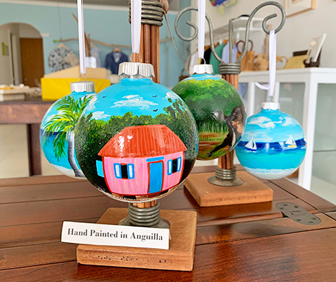 anguilla christmas ornaments