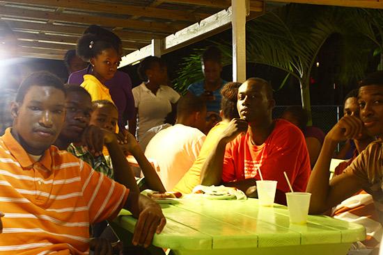 Youth Of Anguilla At Tropical Treats Fun House