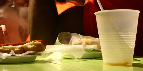 A great tasting Hot Dog from the Tropical Treats Fun House Anguilla